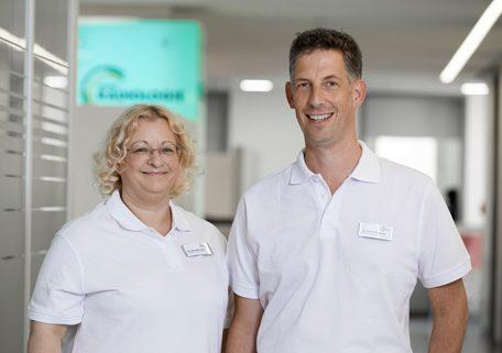 Dr. Sabine Auer und Dr. Till Diergarten